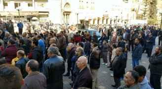 فعاليات البلقاء احتجاجا على الاعتراف بالقدس عاصمة للاحتلال