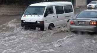 الرمثا: تغيب الطلبة بسبب الأمطار يعلق دوام بعض المدارس.. صور
