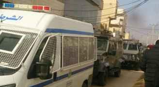 بالصور .. الأمن يواصل تمشيط محافظة الكرك