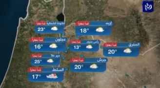 ارتفاع درجات الحرارة الأربعاء ومنخفض جوي الخميس .. فيديو