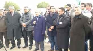 وقفة احتجاجية في جامعة الطفيلة رفضا لقرار ترمب.. فيديو