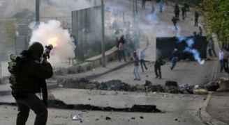 إصابة عشرات الفلسطينيين خلال مواجهات مع الاحتلال في الضفة