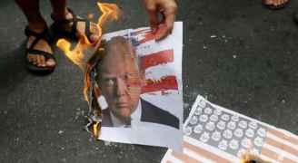 غضب عارم في فلسطين ومسيرات في الأردن والعالم رفضًا لقرار ترمب