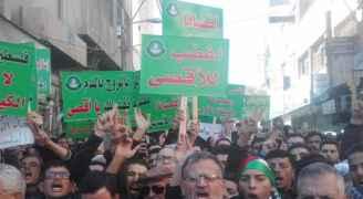 فيديوهات وصور .. المحافظات الأردنية تنتفض نُصرة للقدس