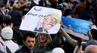 فيديو .. صرخات الأردنيين نصرة للقدس تهزّ محيط السفارة الأمريكية