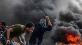 ٨٨٨ فلسطينيا أصيبوا خلال مواجهات الجمعة مع الاحتلال