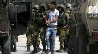 الاحتلال يعتقل ١٩ فلسطينيا بالضفة الغربية