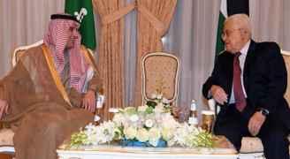 عباس يبحث مع الجبير بالرياض 'سبل الرد' على ترمب