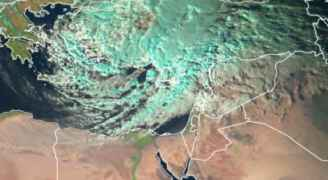 بالصور.. تأثيرات المُنخفض الجوي العميق طالت ملايين الكيلومترات المُربعة