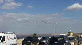 """الدفاع المدني لـ """"رؤيا"""": 3 أشخاص لا زالوا مفقودين في حادثة البحر الميت"""