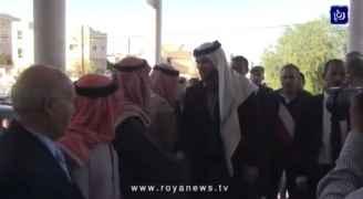 مندوبا عن الملك الأمير هاشم يقدم واجب العزاء في طيبة إربد.. فيديو