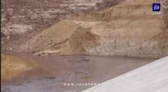 رؤيا زارت سد ماعين ولاحظت انخفاض منسوب المياه فيه.. والوزارة توضح - فيديو