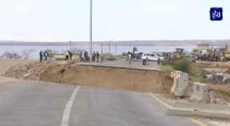 رؤيا تفتح ملف الجسور المهددة بالإنهيار على طريق البحر الميت .. فيديو