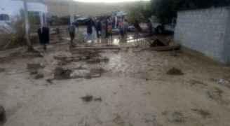 بيان صادر عن الدفاع المدني حول مداهمة الأمطار  منطقة الواله بمحافظة مادبا ووادي موسى في محافظة معان