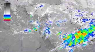 الأرصاد تحذر من أمطار غزيرة الليلة في مختلف مناطق المملكة