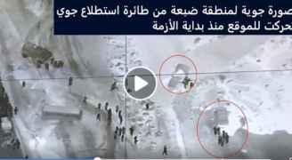 شاهد بالفيديو.. صورة جوية لمنطقة ضبعة من طائرة استطلاع جوي