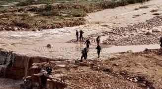 غنيمات: كوادر الدفاع المدني لا زالت تبحث عن مفقودين اثنين جراء السيول