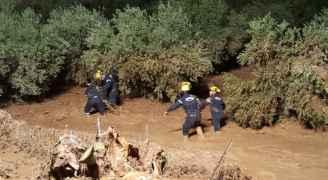 بيان للدفاع المدني يكشف تفاصيل السيول التي داهمت مناطق في مأدبا ومعان