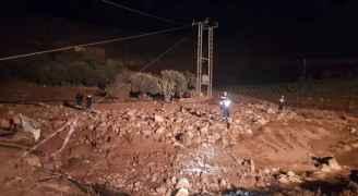غنيمات: الأجهزة المعنية تتابع عملية البحث عن 14 مفقودا في الجفر