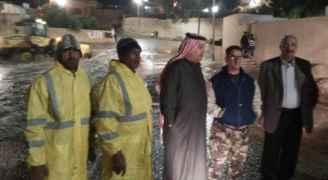 بلدية معان: لا خسائر بشرية ومادية نتيجة الأمطار في المحافظة