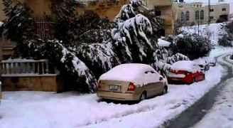 """""""طقس العرب"""" يتحدث لـ """"رؤيا"""" عن مناطق تساقط الثلوج في المملكة.. فيديو"""