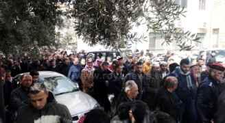 تشييع جثمان الشهيد أحمد الجالودي في ماحص - فيديو وصور