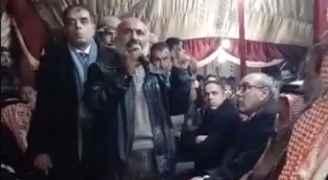 كبار ووجهاء عشيرة الزغول يطالبون الشبان بالتهدئة وعدم اثارة الفوضى