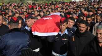 تشييع جثمان الشهيد الملازم الرحامنة لمثواه الأخير ببلدة يرقا - فيديو وصور