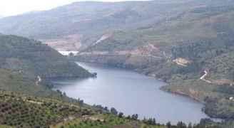 ارتفاع مخزون سد الملك طلال الى 57 مليون متر مكعب
