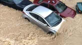وسط البلد تسجل اعلى كميات هطول أمطار