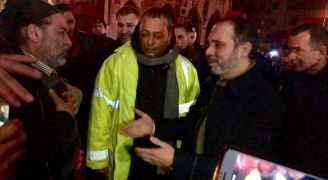 الأمير علي يتفقد أضرار الأحوال الجوية وسط عمان - صور