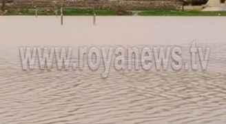 الأمطار تشكل بركا في عدد من مناطق محافظة عجلون - فيديو  وصور