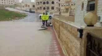 الامطار تداهم 40 منزلا في اربد واخلاء مساكن متصدعة احترازيا