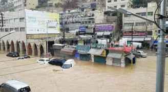 """أمانة عمان تنفي التقصير وتؤكد أن فيضان """"وسط البلد"""" أكبر من كل التحوطات"""