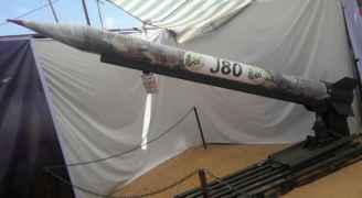 """تعرف على صاروخ """"j80"""" الذي قُصفت به تل أبيب"""