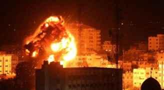 الليلة الثانية من القصف على غزة: المواقع المستهدفة ومواقيت القصف