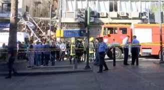 """وفاتان و3 إصابات بانفجار """"تسرب غاز"""" بوسط البلد في عمان - فيديو"""