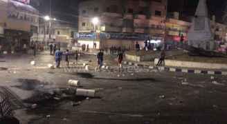 احتجاجات في الرمثا.. والأمن يتدخل.. فيديو وصور
