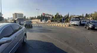 شاهد بالصور .. محيط الدوار الرابع في العاصمة عمان