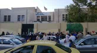 بالصور: طلبة في عمّان يعودون لبعض مدارسهم