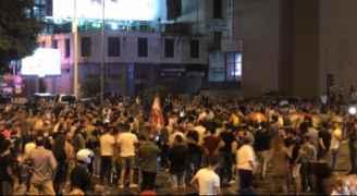 تظاهرات ليلية في لبنان رفضاً لزيادة الضرائب