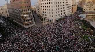 لبنان: سقوط 7 جرحى في المظاهرات وأنباء عن مقتل شخص في طرابلس شمالي البلاد