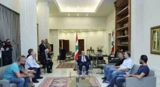 ماذا قال الرئيس عون لوفد المتظاهرين الذي زاره في قصر بعبدا؟