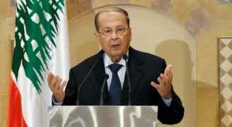 الرئيس اللبناني يخرج عن صمته بشأن المظاهرات