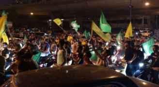 الجيش اللبناني يمنع أنصار حزب الله وحركة أمل من الاحتكاك بالمتظاهرين.. فيديو