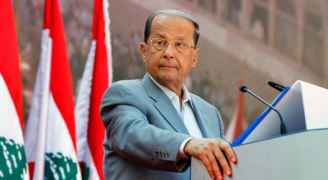 """احتجاجات لبنان.. رد على خطاب عون بـ""""كلمة واحدة"""""""