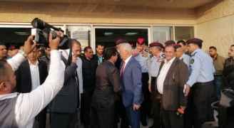 رئيس الديوان الملكي ومدير الأمن العام يتفقدان المصابين في مستشفى جرش - فيديو