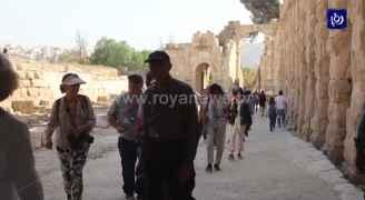 لا تأثير على القطاع السياحي بعد حادثة الاعتداء في جرش - فيديو