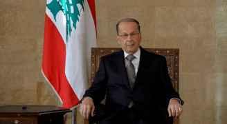 الرئيس اللبناني يقترح حكومة مناصفة من سياسيين واختصاصيين وسط استمرار الازمة