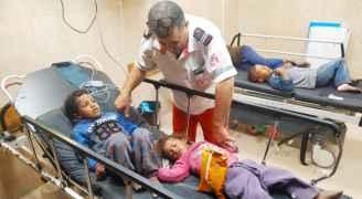 8 شهداء فلسطينيين من عائلة واحدة بقصف منزلهم وهم نيام في غزة - فيديو وصور